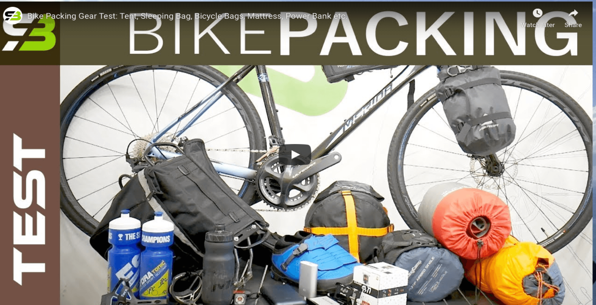Bike Camping And Packing