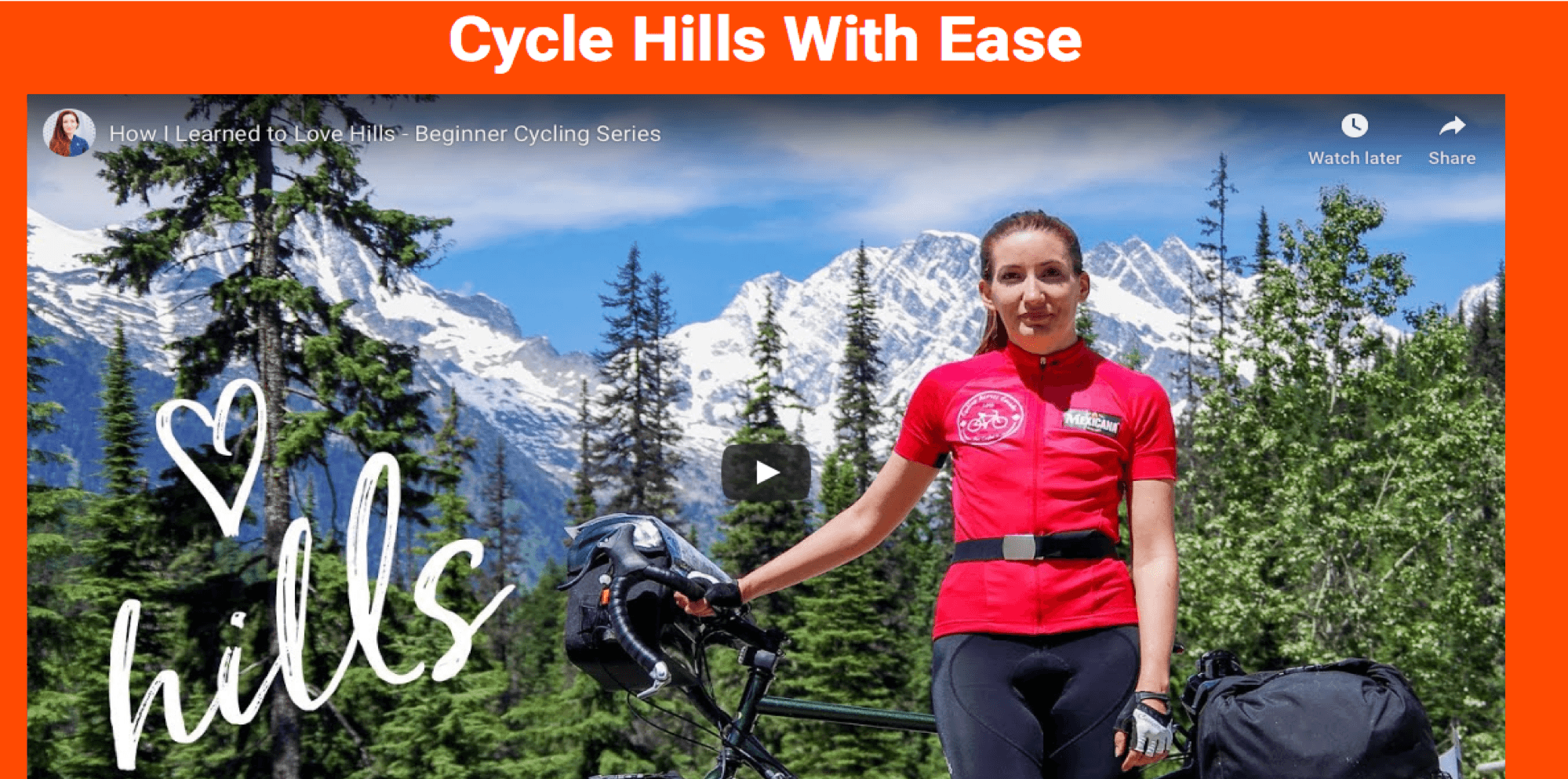 Cycle Hills With Ease