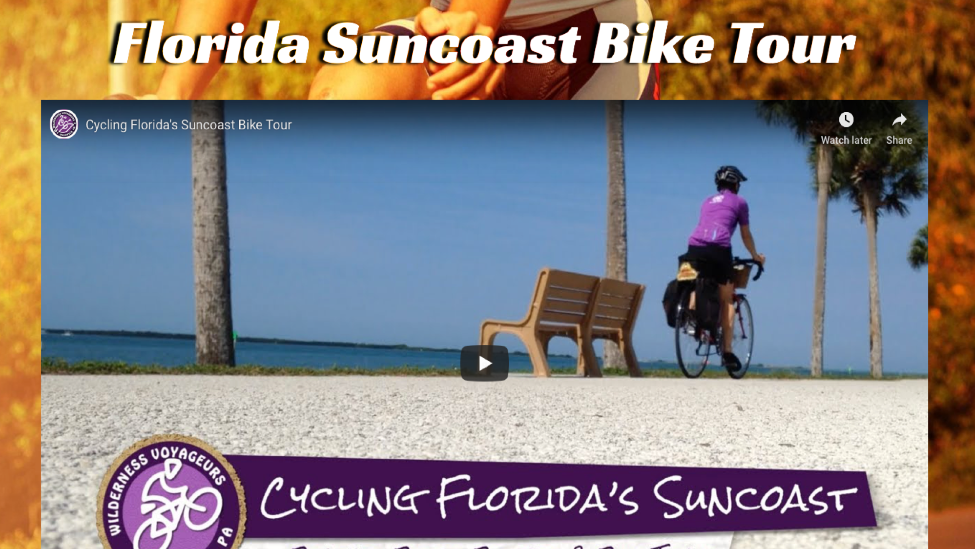 florida suncoast bike tour